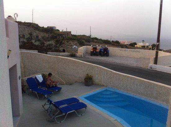Villa Murano: Vista da piscina
