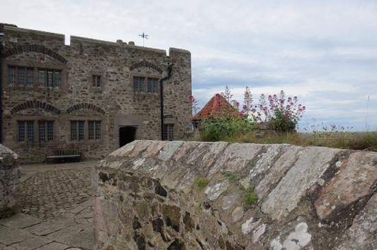 The Holy Island of Lindisfarne: Top of castle