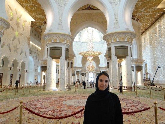 Mosquée Cheikh Zayed : Dentro da Maesquita