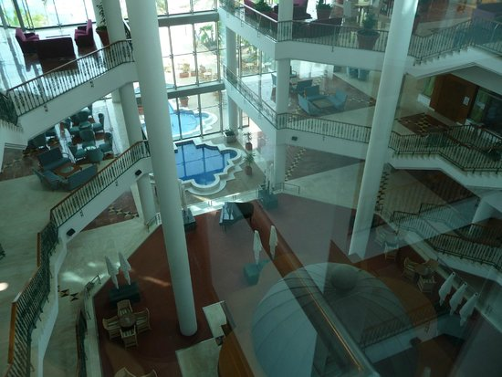 SBH Costa Calma Palace: Aussicht aus Glaslift