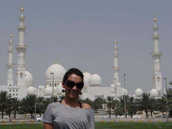 Mezquita Sheikh Zayed: Vista da Mesquita