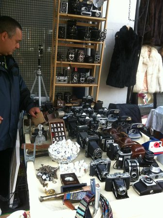 Portobello Road Market: Antiques