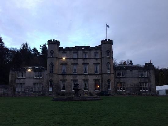 The rear of Melville Castle.