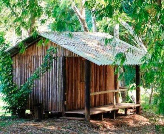 Terezopolis de Goias, GO: Cabana da Pousada Santa Branca, para quem procura algo mais rustico, mais isolado. contando com