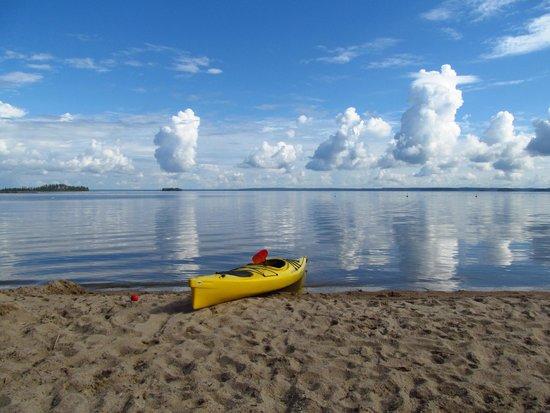Ruokkeen Lomakyla : Puruvesi heinäkuu 2014