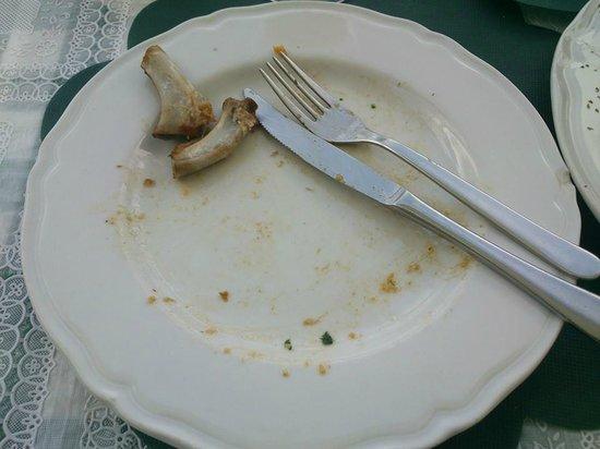 Crot del tas: Quel che resta del pranzo...