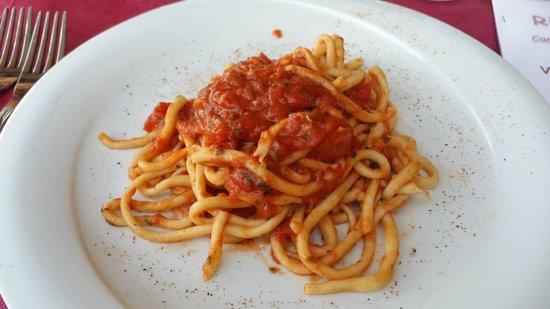 Relais La Costa : pici all'aglione