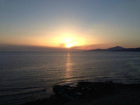 Villaggio degli Olivi: sunset from bedroom