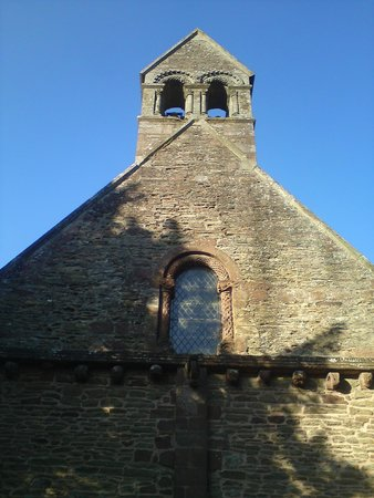 Church of St Mary and St David: Belfry.