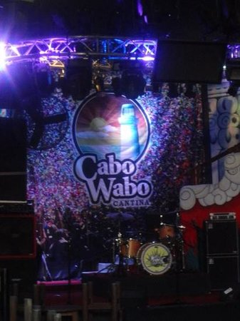 Cabo Wabo Cantina: party time