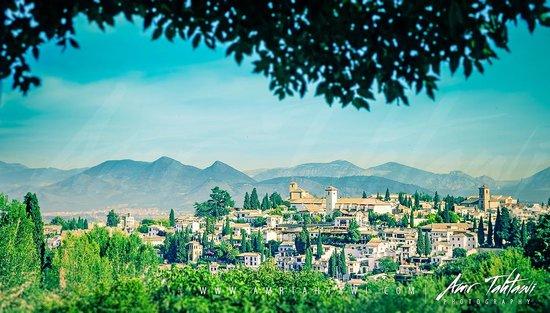 Albayzin: El Albaicín from AlHAMBRA garden