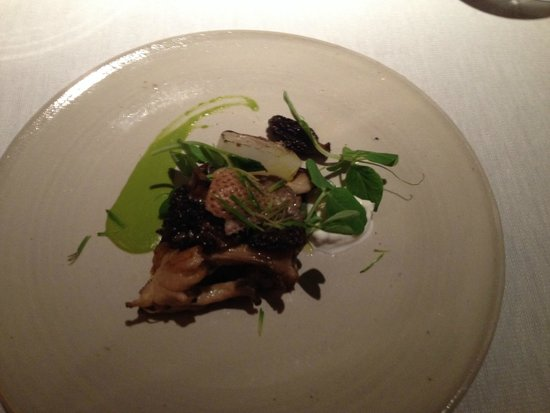 Clement at The Peninsula New York: Warm Mushroom Salad