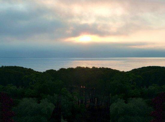 Domus De Janas Beach Resort: View from the terrace