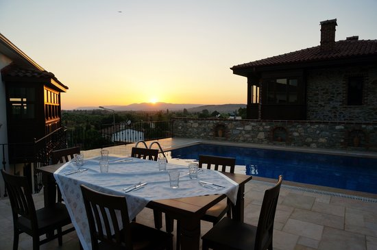 Ayasoluk Boutique Hotel & Restaurant: Beautiful sunset in Ayasoluk Hotel!