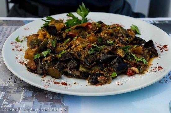 Pelekanos: Pelecanos Restaurant - Eggplant entree
