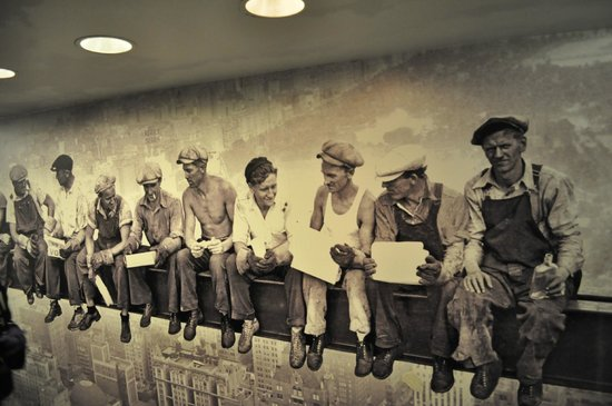 Top of the Rock Observation Deck: WORKERS