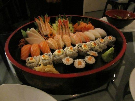 Kukai Capri: Erm... Sushi?!