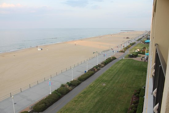 Four Points by Sheraton Virginia Beach Oceanfront : view from our room
