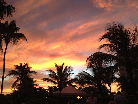 Hilton Barbados Resort: Sunset