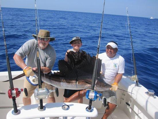 Wasabi Loco Sportfishing Adventures: Michael finally got one!