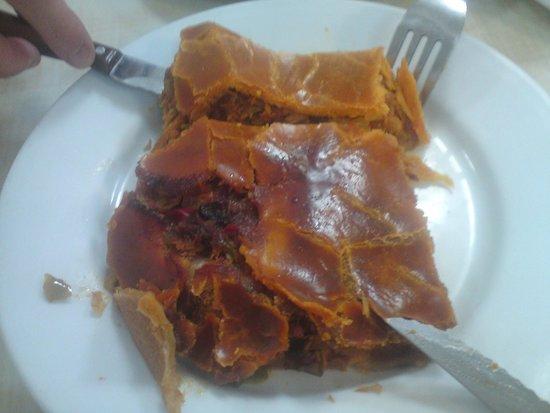 Hogar Del Pollo: Tuna pie.  Delicious.
