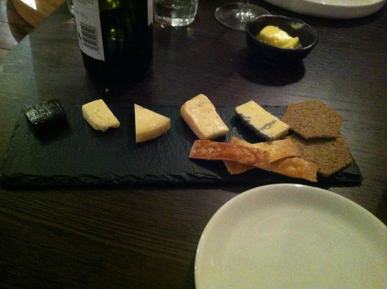 House of Tides: cheeseboard