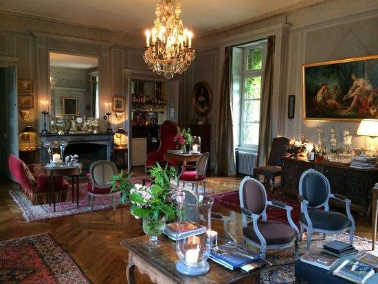 Château de Saint Paterne : Sitting room