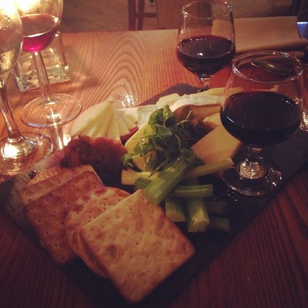 Chez Maw : The cheese board
