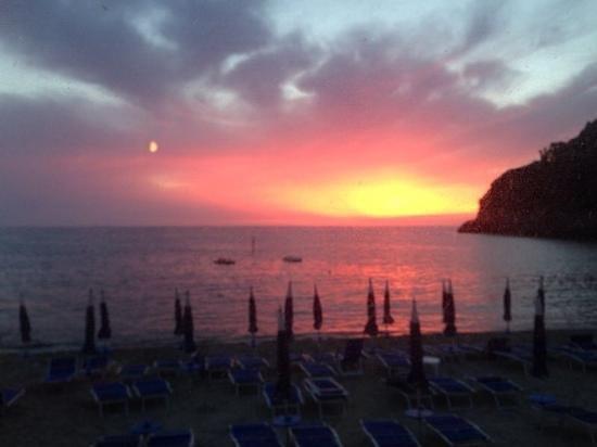 Ristorante Da Giovanni: vista sul tramonto