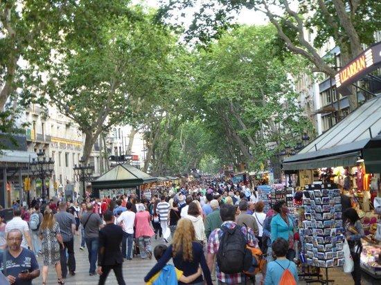 Las Ramblas: Congestion!