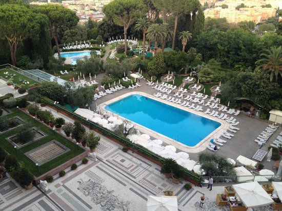 Rome Cavalieri, Waldorf Astoria Hotels & Resorts: View from 7th Floor Imperial Club