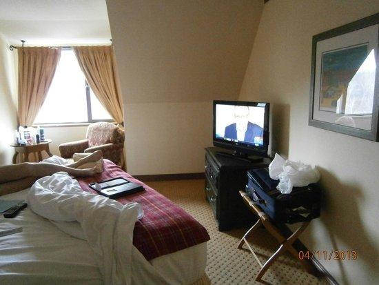 Cap Tremblant Mountain Resort : Une chambre dans une suite 308