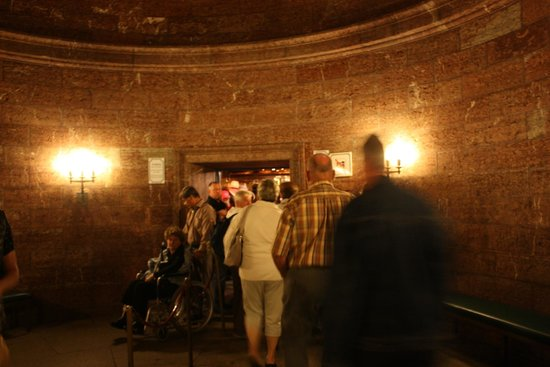 Eagle's Nest Historical Tours: original tunnel leading to the original elevator