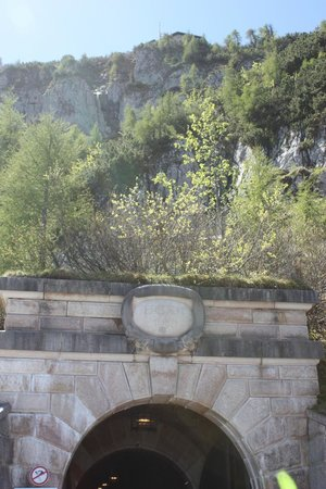 Eagle's Nest Historical Tours: tunnel entrance