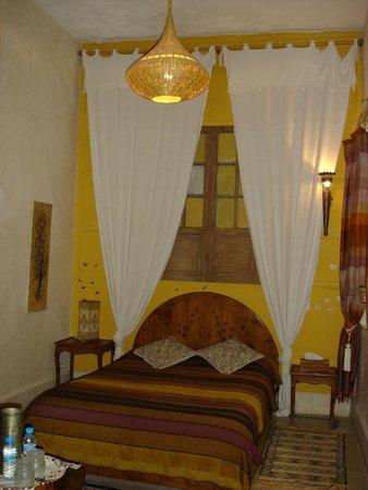 Riad Al Zahia: Our room on the first floor