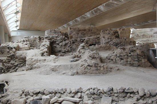 Akrotiri Archaeological Site: праскопки