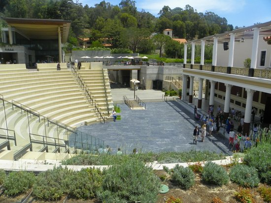 The Getty Villa: the open air theater