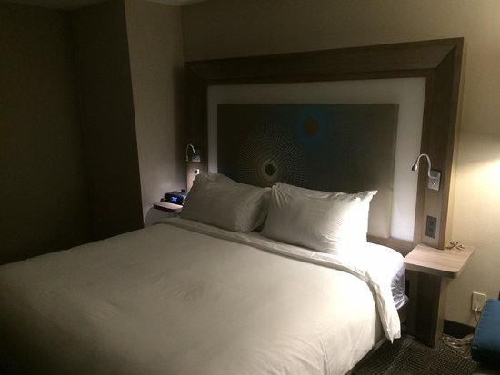 Novotel New York Times Square : The very comfortable bed