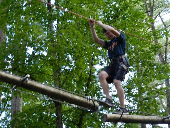 Adirondack Extreme Adventure Course: Walking