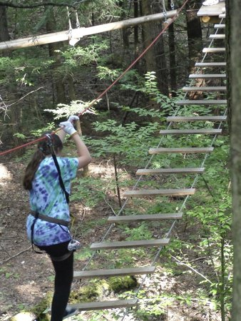 Adirondack Extreme Adventure Course: Course