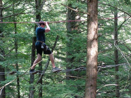 Adirondack Extreme Adventure Course: Climbing