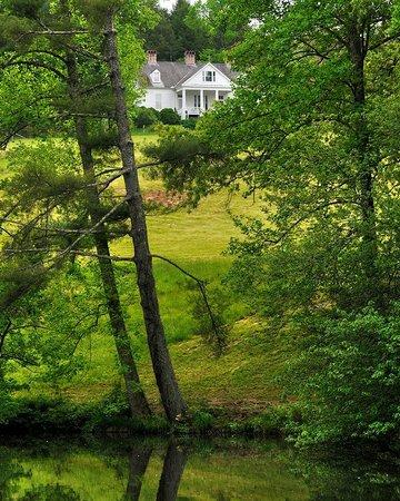 Carl Sandburg Home National Historic Site: Sandburg Home and Front Lake