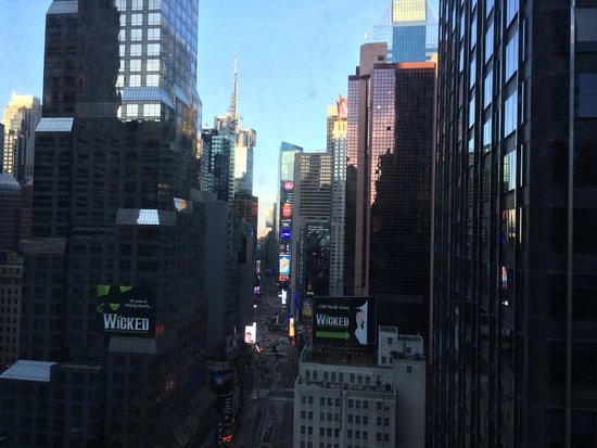 Novotel New York Times Square: View from room at day