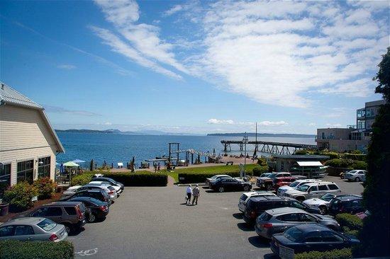 Sidney Waterfront Inn & Suites: Ocean view