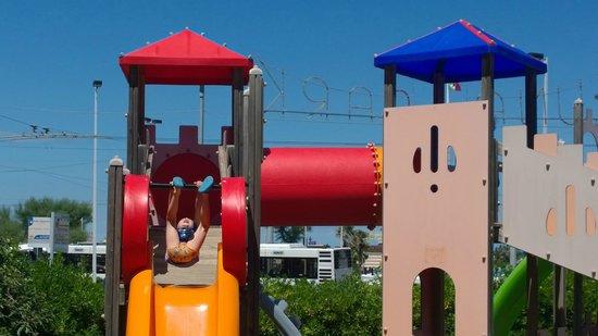 Hotel Union: Parco giochi