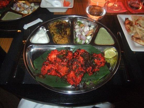 Meeru Island Resort & Spa : tandoori chicken