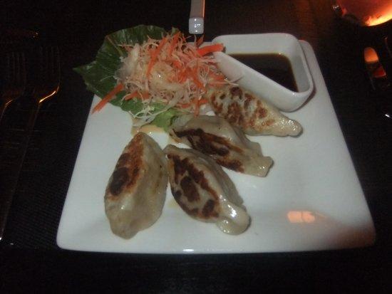 Meeru Island Resort & Spa : dumplings