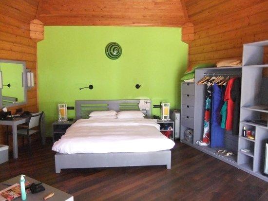 Meeru Island Resort & Spa : beach villa 407 bedroom