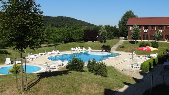 Petnehazy Club Hotel : The view from the rooms balcony