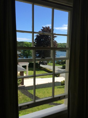 The Pebble Bed & Breakfast: view from room